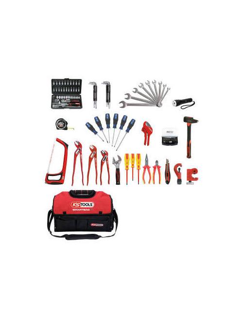 Composition d'outils sanitaire et chauffage en sac SMARTBAG