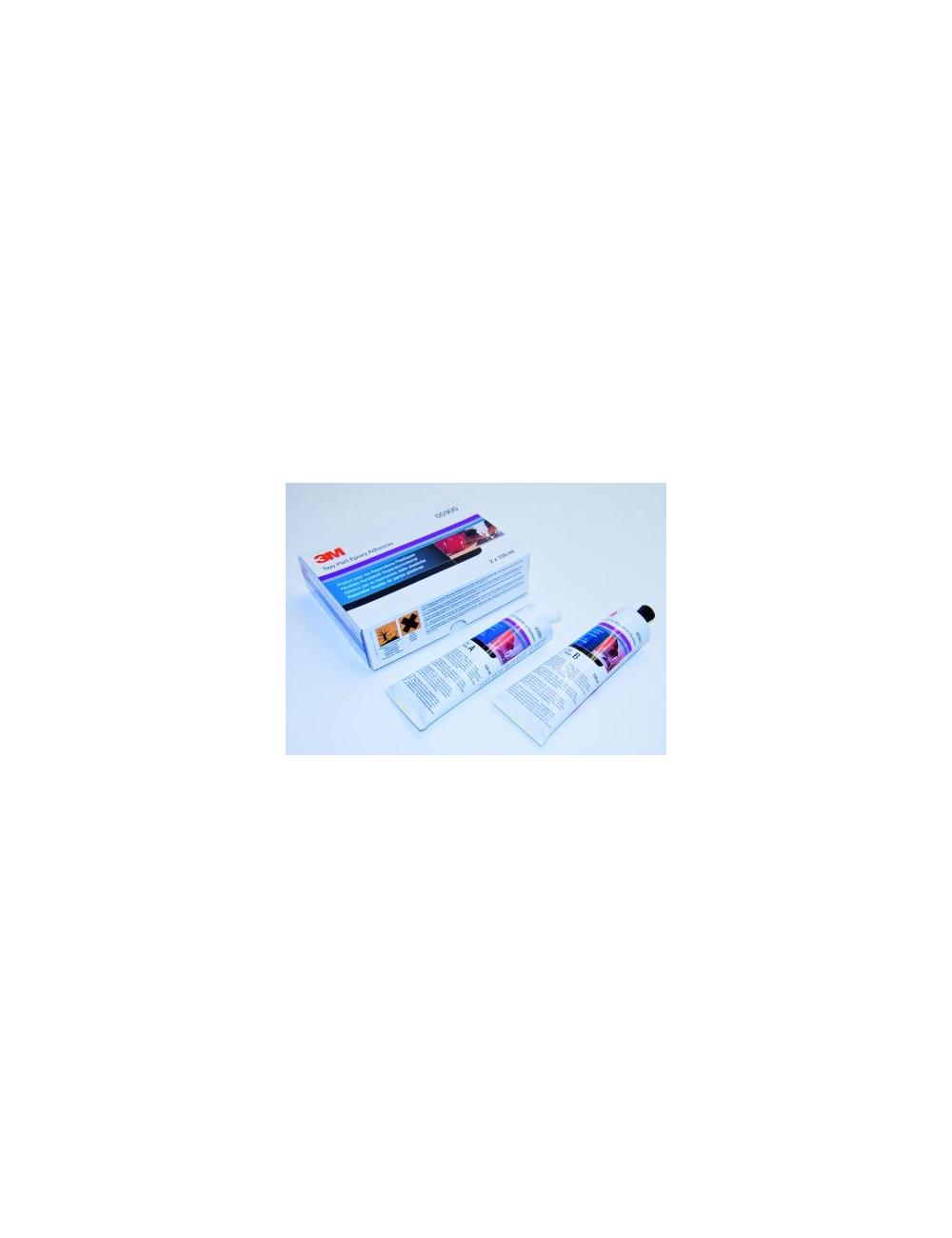 FPRM Mastic  colle gris Réparation des plastiques 3M 2X150ml