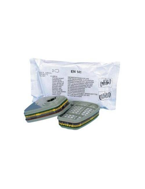 Kit 4 filtres A2P2 et 4 pochettes nettoyantes (1218922)