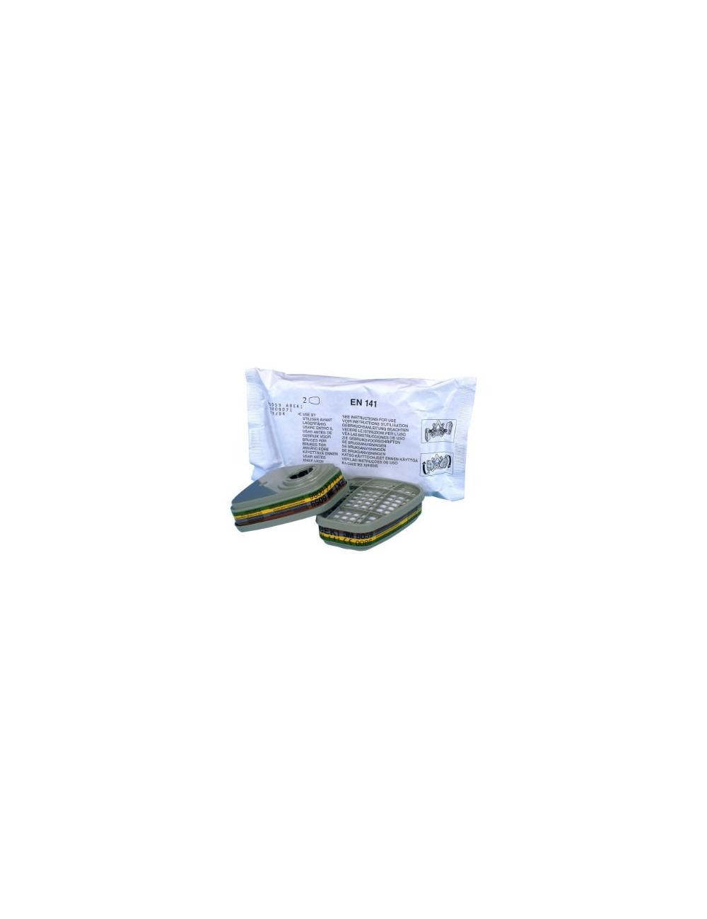 FILTRE ABEK1 vapeur organiques/amoniac gaz acides