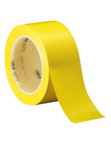 Ruban Scotch 471 jaune 50.8mmx33m