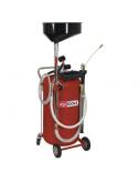 Récupérateur d'huile par gravité et aspiration - 90 L+ extension