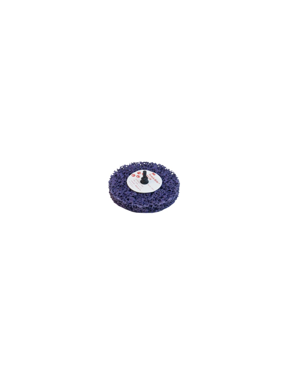 ROUE DECAPAGE 3M Purpule XT-ZR sur axe roloc+ 100x13mm