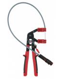 Pince avec câble Bowden pour colliers auto-serrants