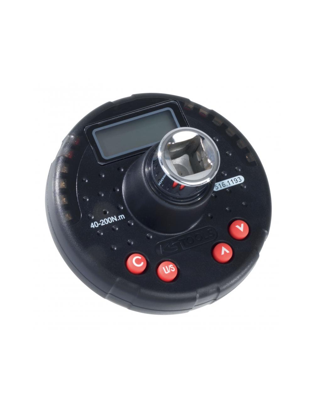 Adaptateur couple et angle, capacité 10 – 200 Nm