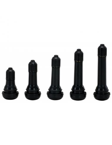 Valve pneu tubeless, Ø11,5 x 61,5mm, 4,5bar maxi, lot de 100pcs