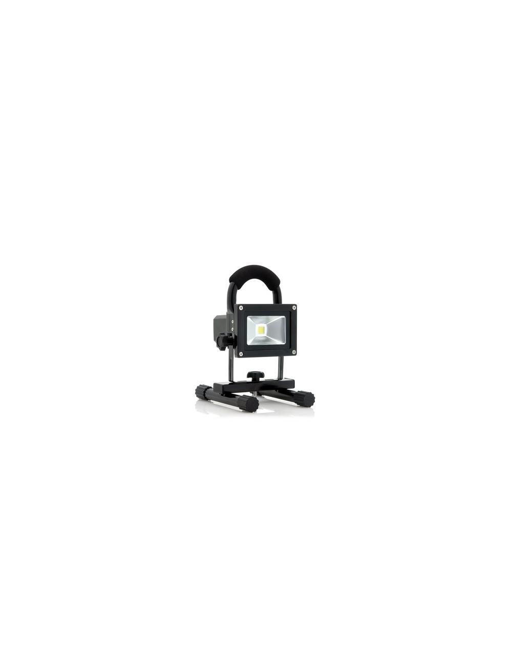 Projecteur 10W sur batterie Lithium 7,4V 4,4Ah 600 Lumens