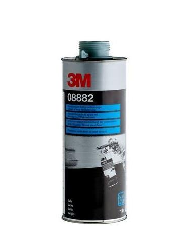 Revêtement anti-gravillon base eau texturé gris 1L