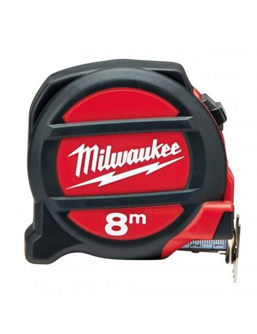 Metre Ruban Mesure roulante 8 m Premium Milwaukee Non Magnetique