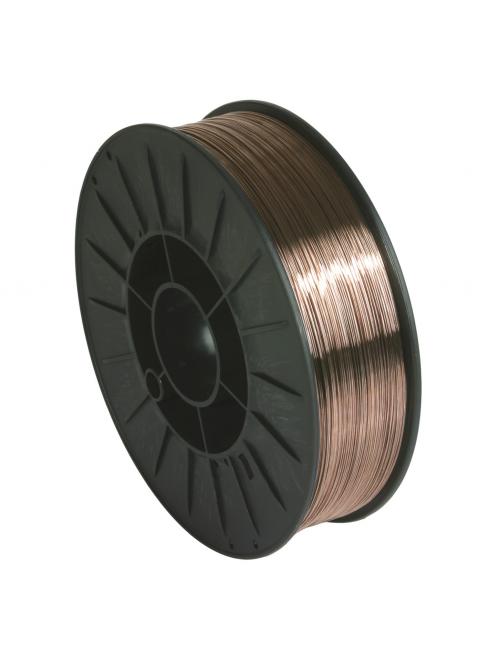 Bobine fil plein 200 mm acier diam 0.8