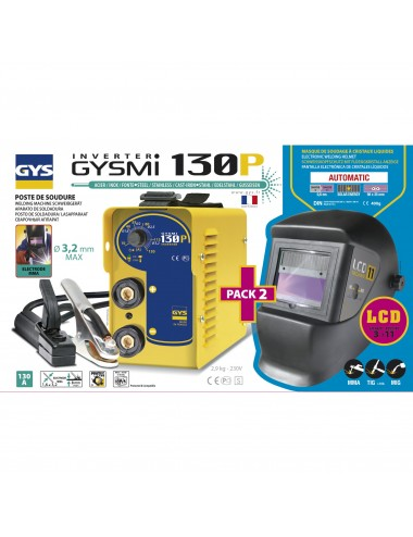 BUNDLE GYSMI 130 P + MASQUE LCD 11