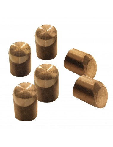 6 caps biseautés (sauf pinces en C)