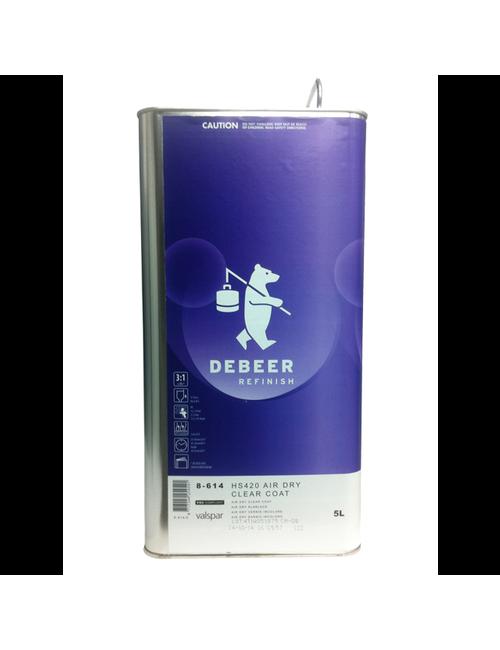 5L Vernis Air Dry Debeer (3 : 1 + 5% UNI Thinner)