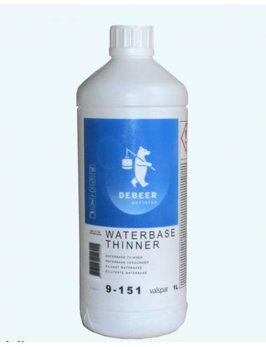 Diluant à l'eau pour Waterbase 1 L