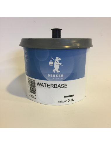 Waterbase Série 900 Rouge Transparent 955 0.5L
