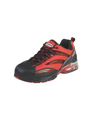 Chaussures de sécurité - Modèle coussin d'air rouge T37