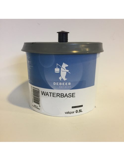 Waterbase Série 900 Metallisé Orange Bril.923 0.5L