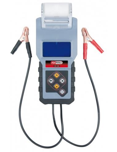 Testeur digital 12V de batterie et circuit de charge avec imprimante