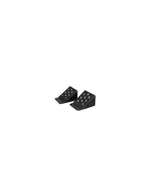 Paire de cales roues métallique PL 230 x 220 x 125 mm