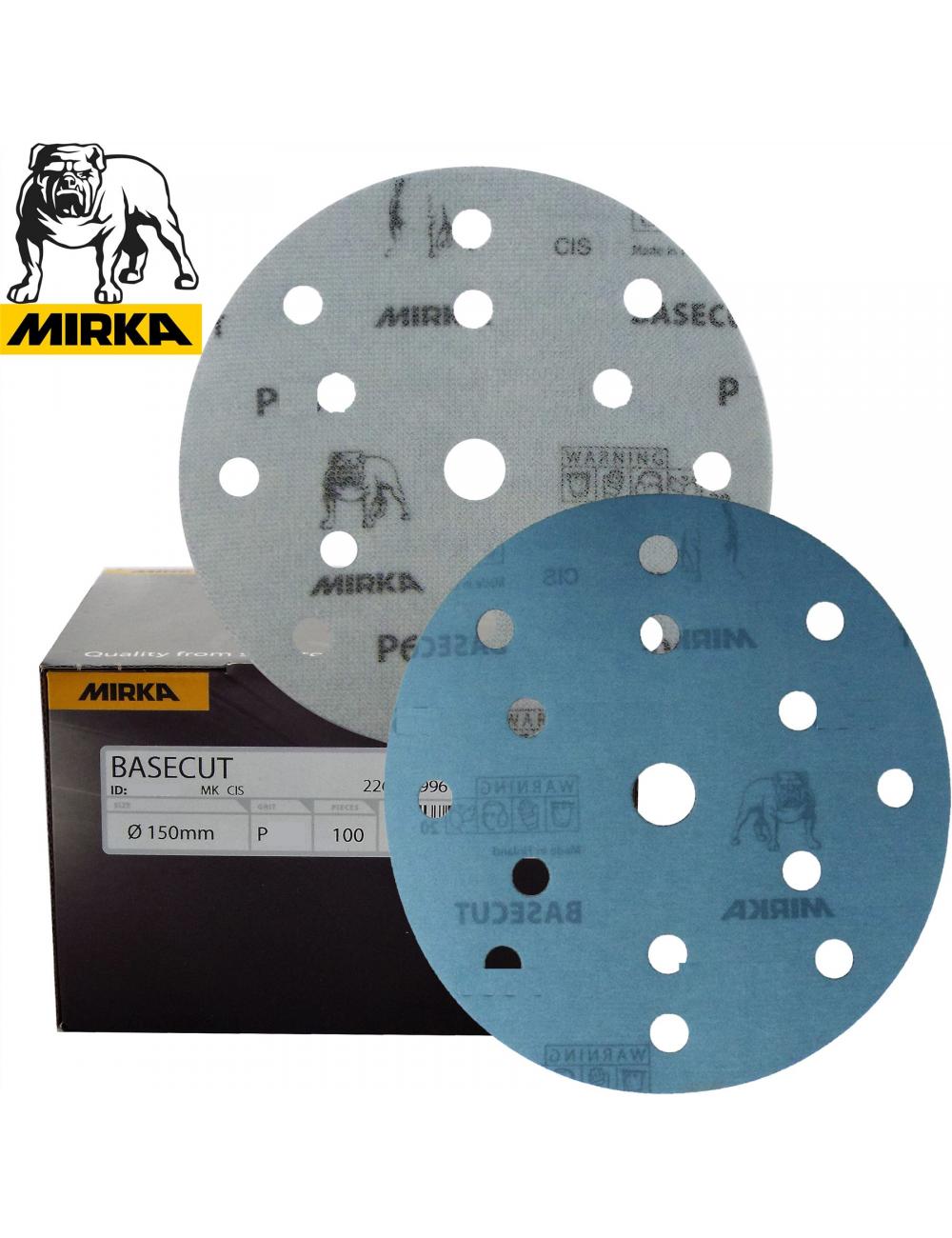 100 disques BASECUT 150mm 15T Grip P600