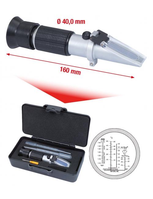 Réfractomètre AdBlue antigel/batterie
