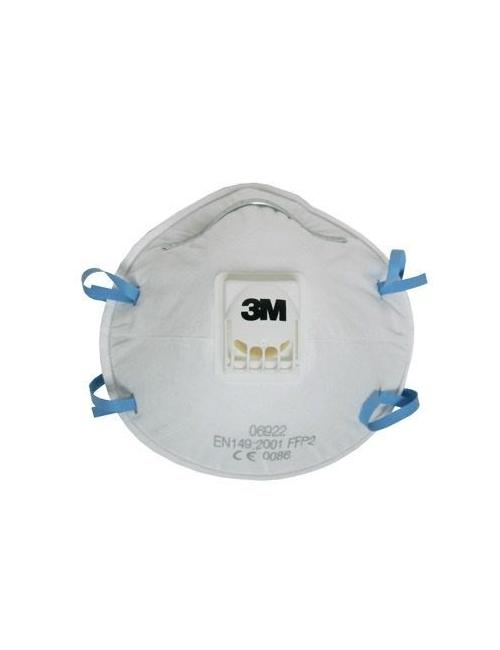 Masque Coque 3M avec soupape  FFP2 NR D