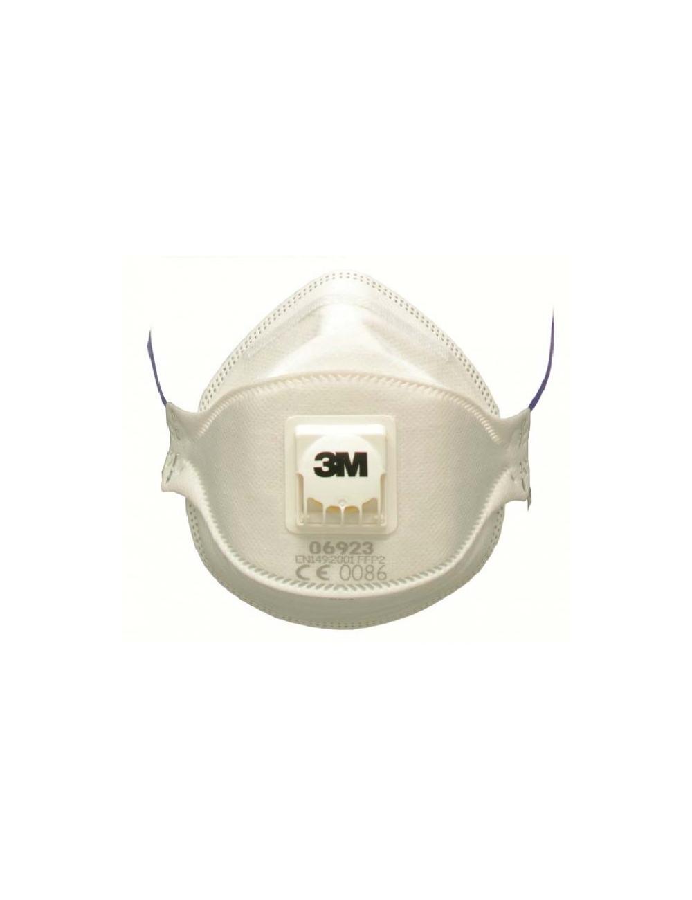 Masque Pliable3M Aura +soupape  FFP2 NR D IDEM REF9322