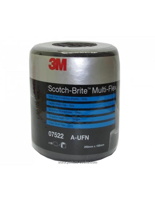 Rouleau de 60 coupes Scotch-Brte multiflex Gris Ultra Fin 3M
