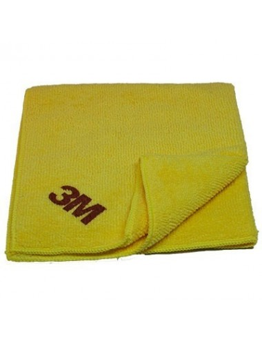 Chiffon de lustrage optimum jaune 3M 360x320mm