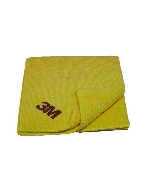 Chiffon de lustrage optimum jaune 3M 360x320mm