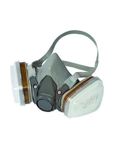Kit demi masque 7500 taille M+2 filtres A2P3+accessoires