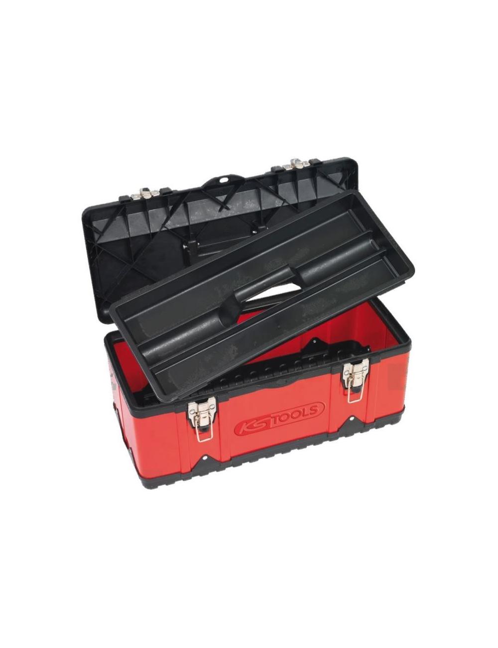 Boîte à outils bimatière 47x23,8x20,3cm