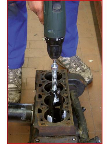 Outil de déglaçage de cylindre, Ø 51-177mm