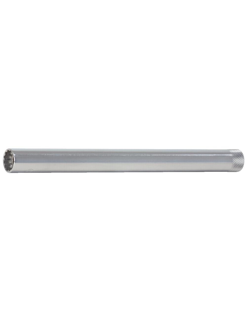 Douille à bougies extra-longue 3/8'', 21 mm