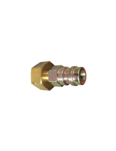 Raccord cylindre 1/4'' + HP R134A