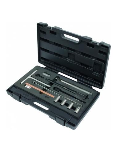 Kit de nettoyage pour sièges d injecteurs, 13 pcs