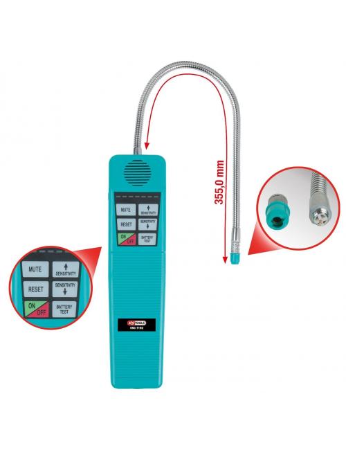 Appareil de détection de fuites pour système de climatisation
