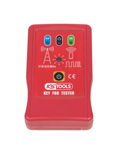 Testeur de clé infra-rouge et haute fréquence 12V