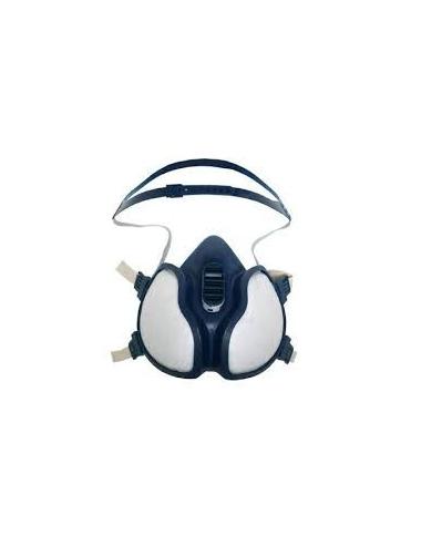 Demi-masque peinture jetable - vapeurs organiques FFA1P2 R D