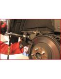 Repousse-piston pneumatique avec coupelles universelles