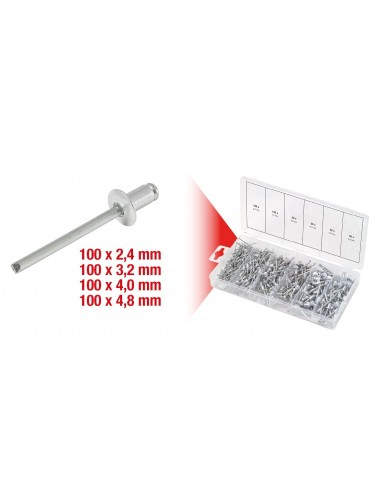 Assortiment de rivets x400