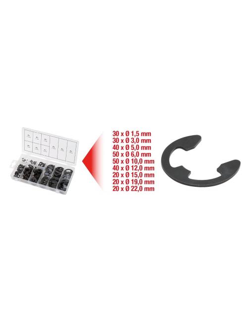 Assortiment de circlips de type E x300