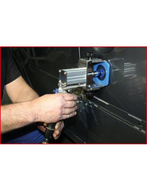 Coffret professionnel d'extracteur de bosses pneumatique