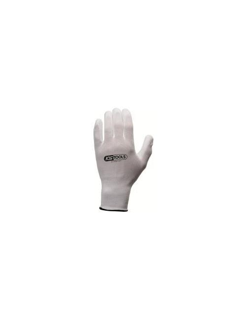 Gants avec enduction polyuréthane sur paume Taille L, 12 paires