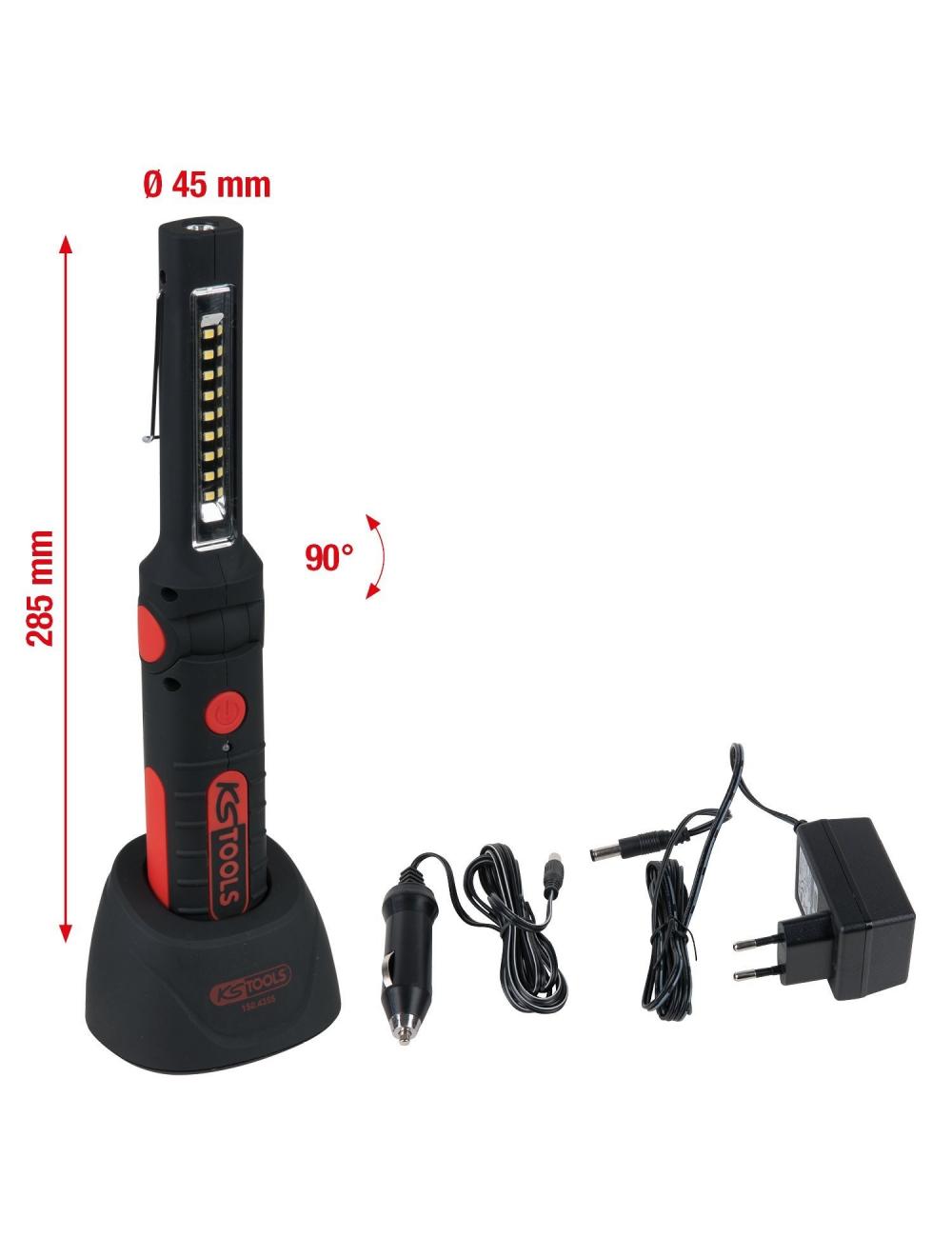 Baladeuse à LED SMD 9 + 1 KS TOOLS