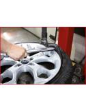 Levier de montage de pneu avec revêtement de protection plastique