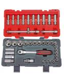 Coffret de douilles et accessoires ULTIMATE® 12 pans - 1/2'', 39 pièc