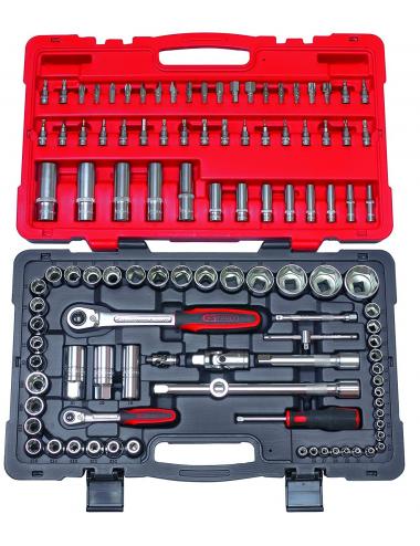 Coffret de douilles et accessoires ULTIMATE® 1/4'' - 1/2'', 111 pièce