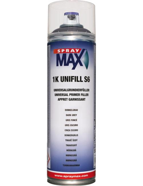 SM APPRET UNIVERSEL 1K UNIFILL S6 GRIS FONCE 500ML