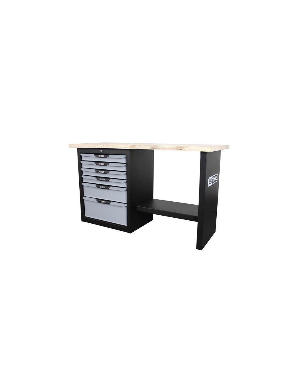 Etabli professionnel d'atelier 6 tiroirs